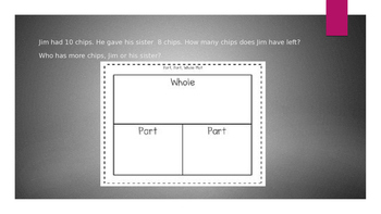 1st and 2nd grade: friends of 10 word problems