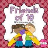 Friends of 10 printable