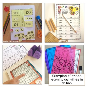 Friends of 100 - Addition and Subtraction Two-Digit Numbers