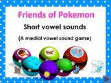 Friends of Pokemon - Phonics - vowel sounds (with free pri
