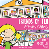 Friends of 10 Math Game Activity Center