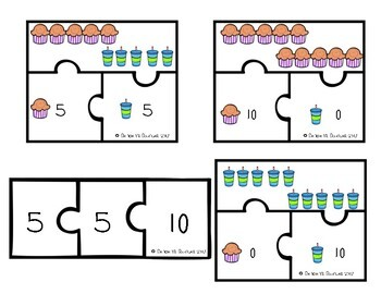 Friends of Ten Bundle! ~ Making Ten 12 Different Centers!