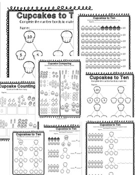 Friends of Ten Fluency Mega Bundle | Adding/Decomposing within 10 | CCSS aligned