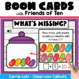 Addition and Subtraction BOOM Cards™ | Make a Ten | Friend