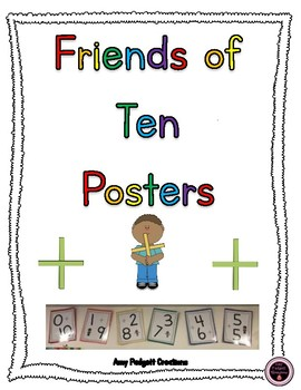 Friends of Ten Posters/Anchor Charts