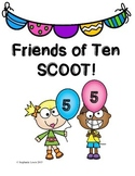 Friends of Ten SCOOT game | Addition Fluency | **3 Versions**