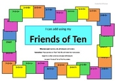 Friends of Ten, Twenty and 100 Addition Game - Using number combinations to add.