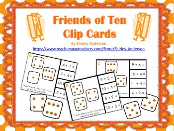 Friends of Ten clip cards