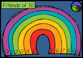 Friends of Ten rainbow template COLORING and POSTER set