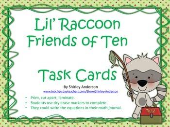 Friends of Ten with Lil' Raccoon - Freebie