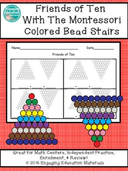 Friends of Ten with the Colored Bead Stairs (Montessori)