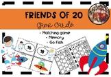 Friends of Twenty Game Cards