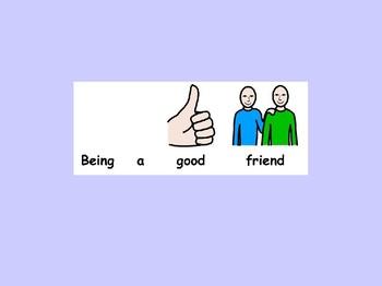 Friends powerpoint SEN
