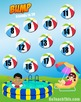 Friends to 20 - Addition Games - Bump - 8 Game Boards