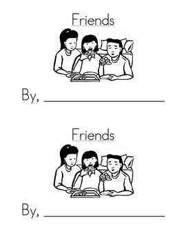 Sight Word Emergent Reader: Friends (you)