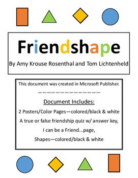 Friendshape - Teaching about Friends