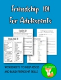 Friendship 101 for Adolescents