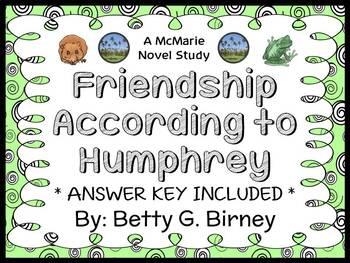 Friendship According to Humphrey (Betty G. Birney) Novel S