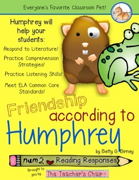 Friendship According to Humphrey Book Companion