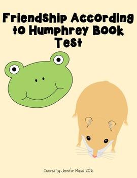 Friendship According to Humphrey Book Test