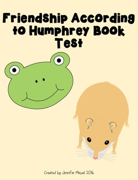 Friendship According to Humphrey Book Test