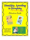Friendship According to Humphrey - Literature Guide
