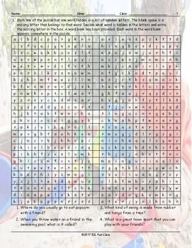 Friendship Activities Alphabet Soup