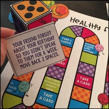 Friendship Activities Board Game