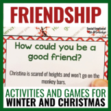 Friendship Activities Bundle for Winter and Christmas