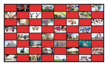 Friendship Activities Checker Board Game