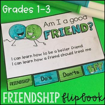 Friendship Activities - Flipbook and Bookmarks