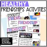 Friendship Activities // Healthy Friendships // Good Friend, Bad Friend