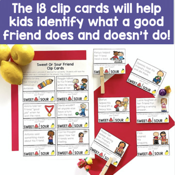 Friendship Activities To Teach About Being A Good Friend: Includes Google Slides