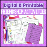 Friendship Activities - Valentine's Day Themed