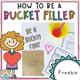 Friendship Activity - How to be a Bucket Filler (Free Download)