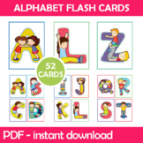 Friendship Alphabet Flash Cards; Kindergarten; Preschool;