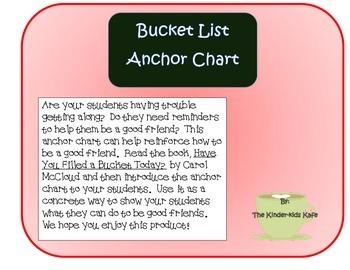 Friendship Anchor Chart