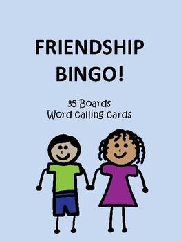 Friendship BINGO!