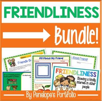 Friendship BUNDLE:  All Friendship Activities