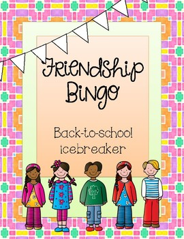 Friendship Bingo