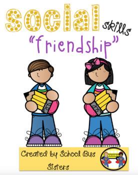 Friendship Bingo-social skills