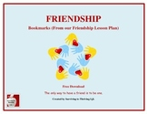 Friendship Bookmarks - Free Product