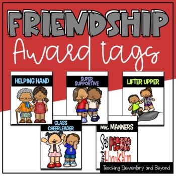 Friendship Brag Tags