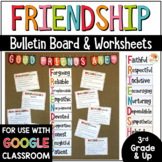 Friendship Bulletin Board, Posters, and Activities with Di