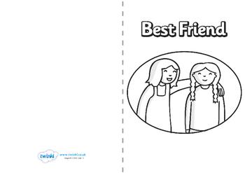 Friendship Card Templates