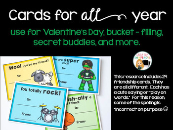 Friendship Cards for Valentine's Day and beyond