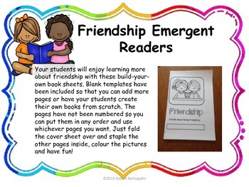 Friendship: Character Education for Young Students