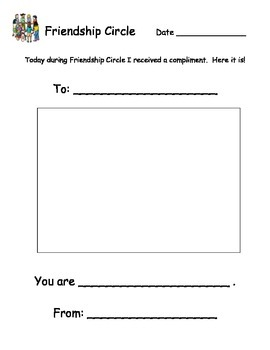 Friendship Circle: Putting a positive spin on class meetings