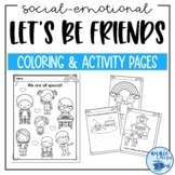 Friendship Coloring Pages   Kindness Coloring   Friends Activities