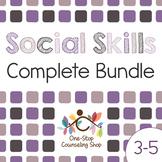 Social Skills Complete Bundle (Grades 3-5)